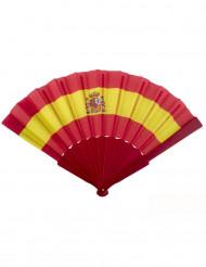 Solfjäder supporter Spanien 23 cm
