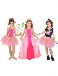 Kostym 3 i 1 fe prinsessa popstar gåvoset