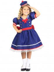 Blå sjömansdräkt barn