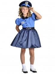 Polisklänning för barn till maskeraden