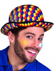 Mångfärgad clownhatt