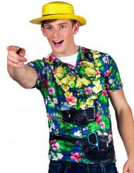 Hawaii t-shirt turist man