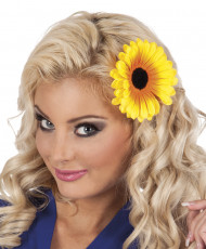 Solros hårspänne