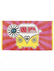 Hippieflagga till festen 90 x 150