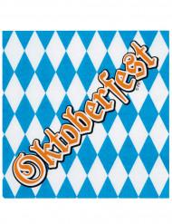 12 pappersservetter Oktoberfest 33 x 33 cm