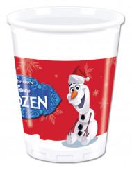 Julmuggar i plast med tryck av Olaf™