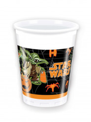 8 Halloween muggar från Star Wars™ 200 ml