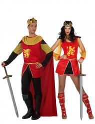 Riddare och kung - Medeltida pardräkt för vuxna