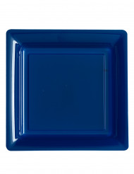 12 Blåa tallrikar 23,5 cm