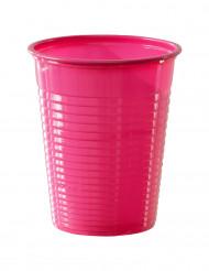 50 fuchsia plastmuggar 20cl