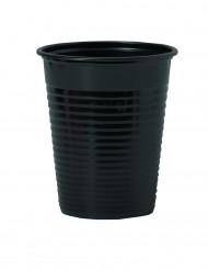 50 svarta plastmuggar 20 cl