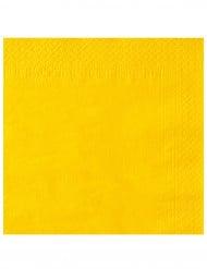 50 neongula servetter 38 x 38 cm