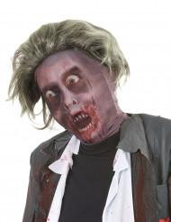 Zombie huva med peruk