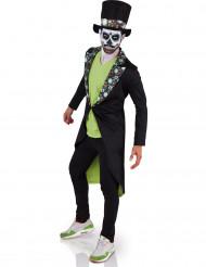 Maskeraddräkt Día de los muertos vuxen Halloween