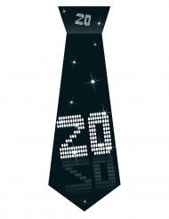 Kartong slips med elastisk band - VIP 20 år