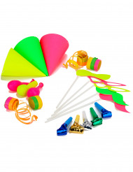 Neon party-kit 5 personer