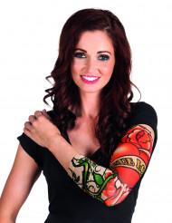 Ärm med true love tatueringar