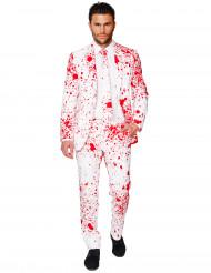 Kostym Mr. Blodig vuxen Opposuits™ Halloween