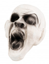 Nafsande zombiehuvud - Halloweendekoration