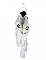 Spöke med kedjor 100 cm - Halloweendekoration