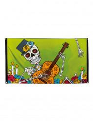 Dia de los muertos banderoll - Halloweendekoration