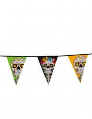 Girlang i De dödas dag-stil 10m - Halloweendekoration