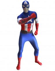 Morphsuits™ Captain America-dräkt digital vuxen