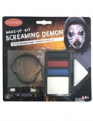Sminkkit för demoner till Halloween
