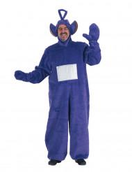 Tubbiekostym i lila till vuxen för maskeraden