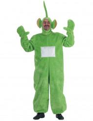Grön Tubbiedräkt för vuxna till maskerad