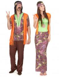 Herr & Fru Hippie - Pardräkt vuxna