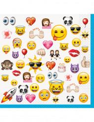 16 Pappersservetter från Emoji™
