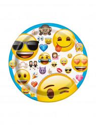 Emoji™ kartongfat 17,5 cm