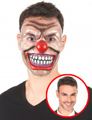 Transparant clown mask