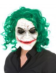 Psykopatisk harlequin - Latexmask till Halloween