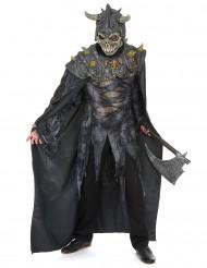 Maskeraddräkt riddare i mörka armén vuxen