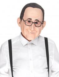 Humoristisk latexmask François för vuxna