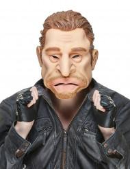Humoristisk latexmask som Jonny för vuxna