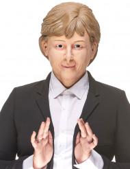 Humoristisk latexmask Angela Melker i för vuxna