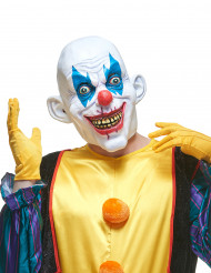 Latexmask ondskefull clown