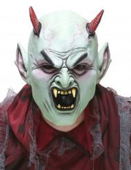 Latexmask ond djävul vuxen