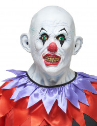 Latexmask skrämmande clown