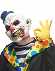Latexmask fasansfull clown vuxen
