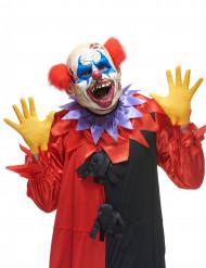Latexmask clown från mörkret