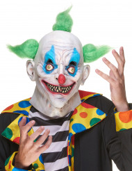 Latexmask kuslig clown vuxen