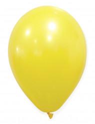 50 Gulfärgade ballonger 30 cm