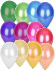 50 ballonger i metalliska färeger