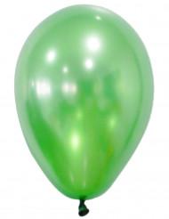 50 Gröna metalliska ballonger