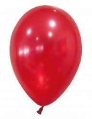 50 Röda metalliska ballonger