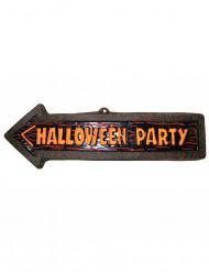 Halloween party - Skylt till festen 57 x 19